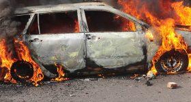 Wielka tragedia koło Poznania. Kierowca spłonął w aucie w czasie…