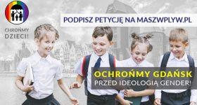 Ochrońmy Gdańsk przed ideologią gender!